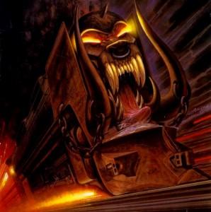 Motörhead train (Joe Petagno)